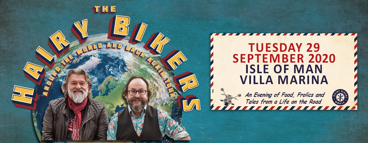 banner image for An Evening with the Hairy Bikers