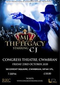 MJ The Legacy starring Craig Harrison Poster
