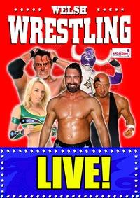 Live Superstars of Welsh wrestling 2020 Poster
