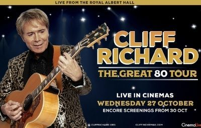 thumbnail image for Cliff Richard: The Great 80 Tour