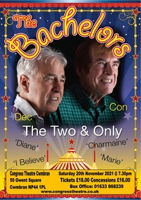 Con and Dec, The Bachelors Poster