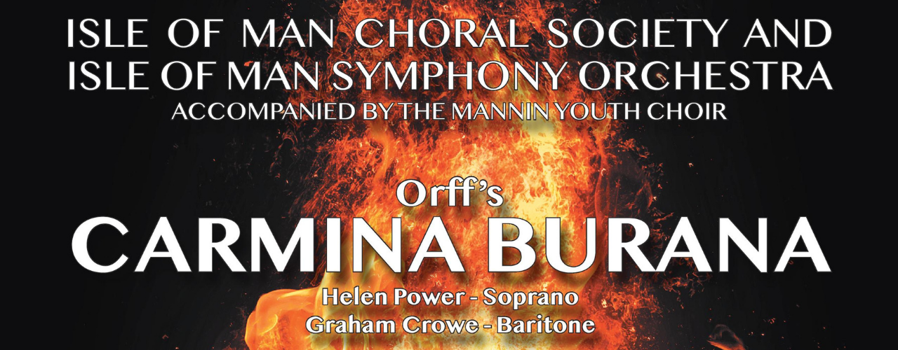 banner image for IOMCS presents Beethoven's Choral Fantasia & Orff's Carmina Burana