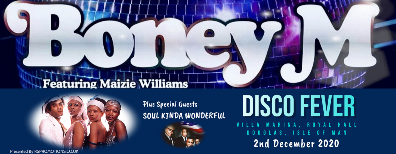 banner image for Boney M (with Special Guests Soul Kinda Wonderful)