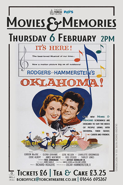 Movies & Memories: Oklahoma! at Torch Theatre