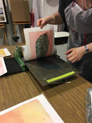 Printmaking Sept 19