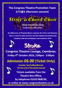 LTC - Strike a Chord Choir Poster