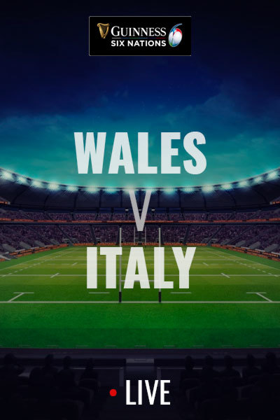 2020 Six Nations - Wales v Italy at Torch Theatre