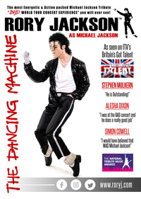 Michael Jackson, (The Dancing Machine) starring Rory Jackson Poster