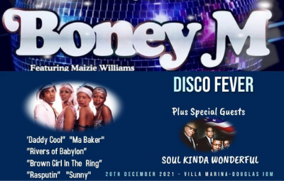 Thumbnail for Boney M (with Special Guests Soul Kinda Wonderful + Aftershow Disco)