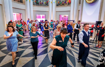 image of Arts in the Arcade - Swing in the Isle Workshop