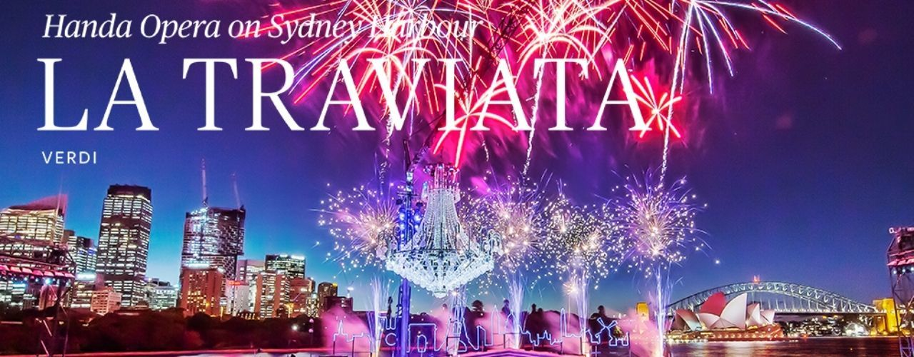 banner image for La Traviata on Sydney Harbour 2021