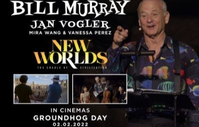 thumbnail image for Bill Murray - New Worlds