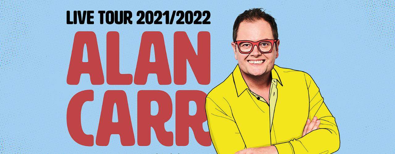 banner image for Alan Carr: Regional Trinket