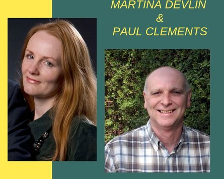 Martina Devlin & Paul Clements – Omagh Literary Festival