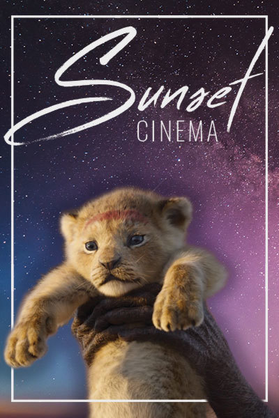 The Lion King (PG) - Sunset Cinema | Milford Waterfront at Torch Theatre