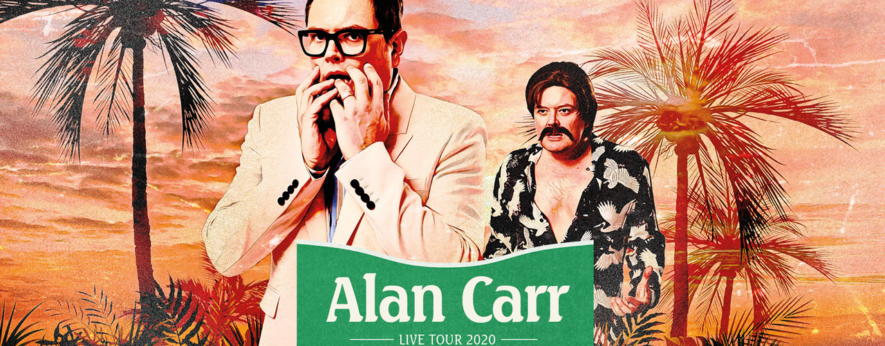 banner image for Alan Carr: Not Again, Alan!