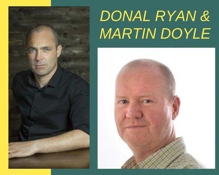 Donal Ryan & Martin Doyle – Omagh Time Literary Festival