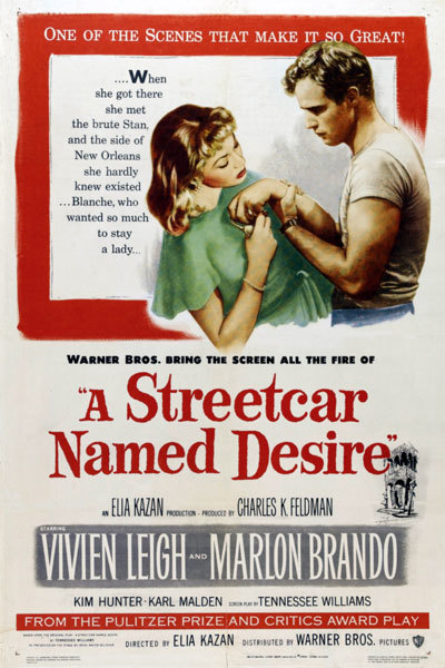 A Street Car Named Desire (PG) FILM SEASON at Torch Theatre