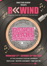 Dance Stars Academy present Rewind Poster