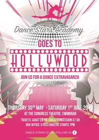Dance Stars Academy Goes To Hollywood Poster