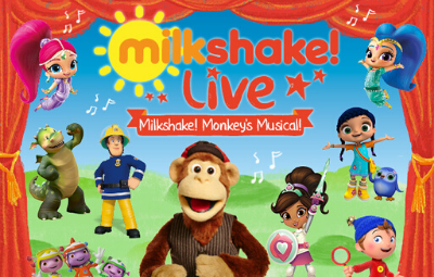 image of Milkshake! Live: Milkshake Monkey's Musical