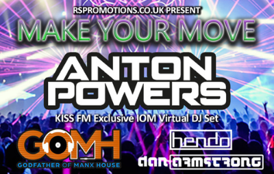 image of Make Your Move - Exclusive IOM Virtual DJ Set starring Anton Powers