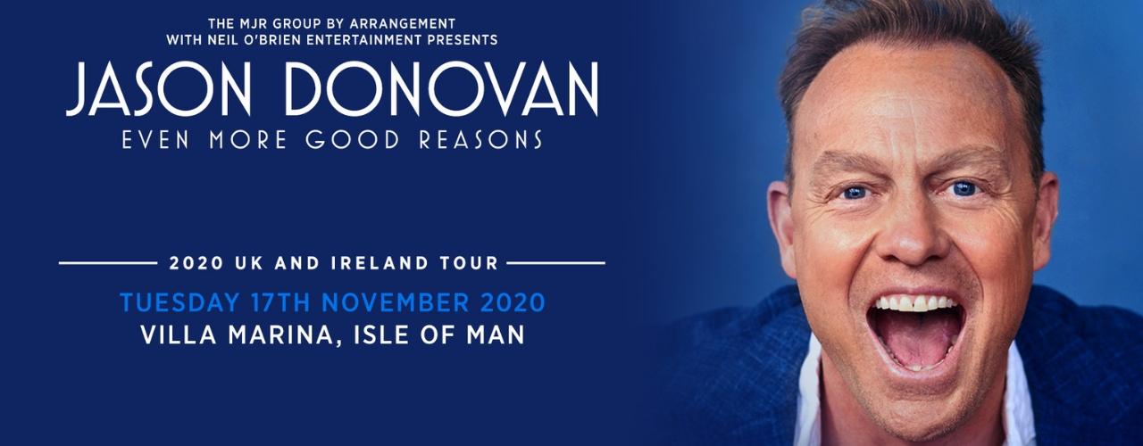 banner image for Jason Donovan - Even More Good Reasons Tour