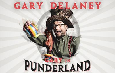 image of Gary Delaney - Gary in Punderland