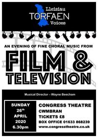 Film and Television with Lleisiau Torfaen Voices Poster