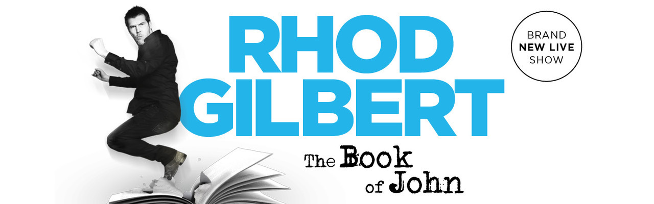 banner image for Rhod Gilbert: The Book of John