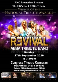ABBA Revival Poster