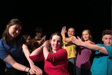 Droichead Arts Centre -            Droichead Youth Theatre Autumn/Winter 2021 Senior Term