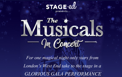 image of STAGE-ed present - 'The Musicals in Concert'