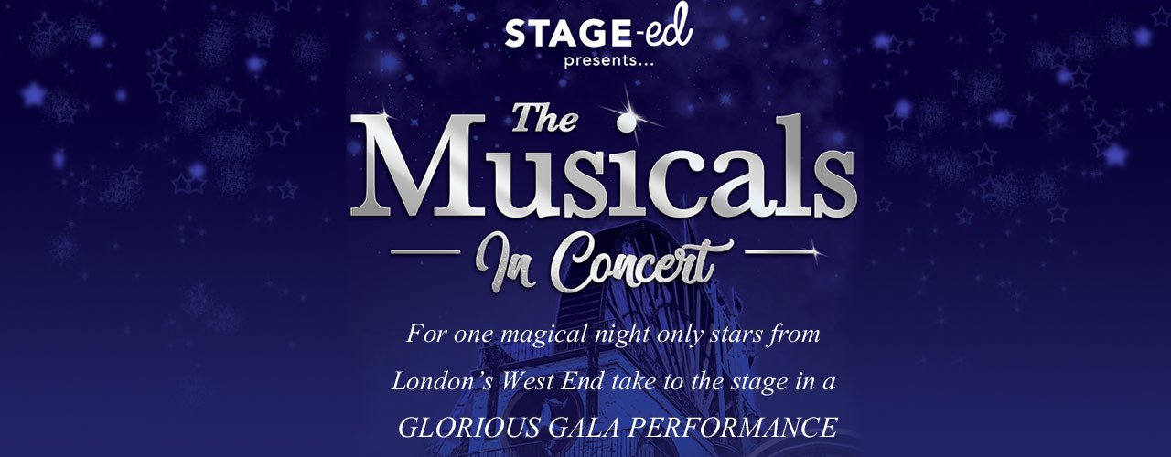 banner image for STAGE-ed present - 'The Musicals in Concert'