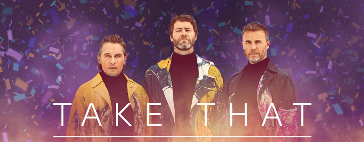 banner image for Take That Greatest Hits LIVE