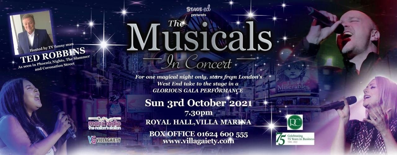 banner image for Stage-ed Present: The Musicals in Concert