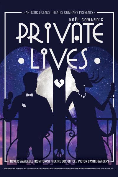 Private Lives - Artistic Licence Theatre Company at Torch Theatre