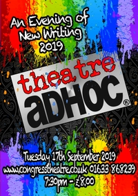 An Evening of New Writing with Theatre AdHoc Poster