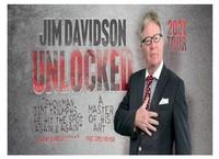 Jim Davidson Unlocked 2021 Tour Poster