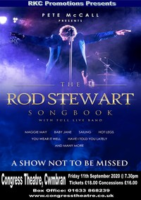 The Rod Stewart Songbook Poster