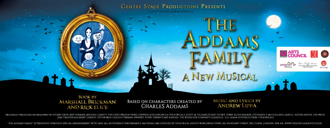 banner image for The Addams Family