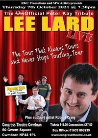 Tribute to Peter Kay starring Lee Lard Poster