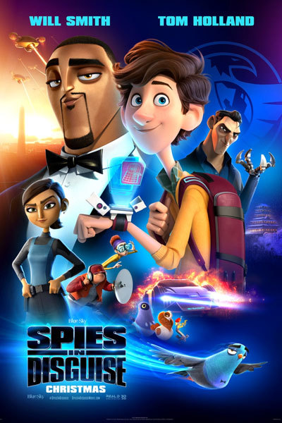 Spies in Disguise (PG)  at Torch Theatre