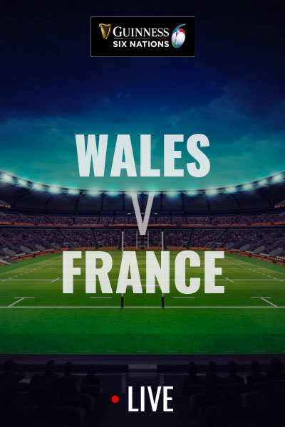 2020 Six Nations - Wales v France at Torch Theatre