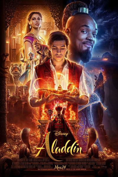 Aladdin (PG) 3D at Torch Theatre