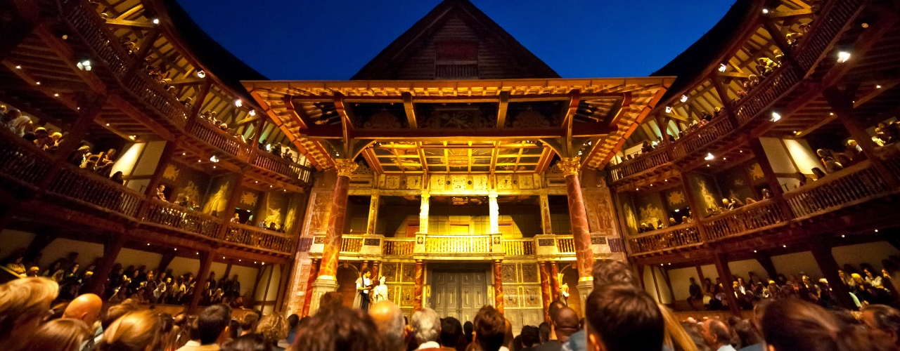 banner image for Merry Wives of Windsor Live from Shakespeare's Globe