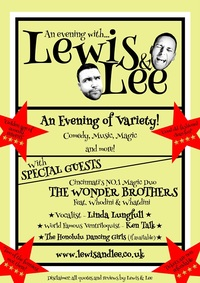 An Evening with Lewis and Lee Poster