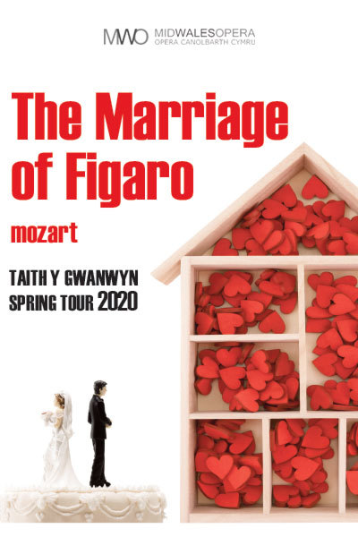 Mozart's Marriage of Figaro - Mid Wales Opera at Torch Theatre
