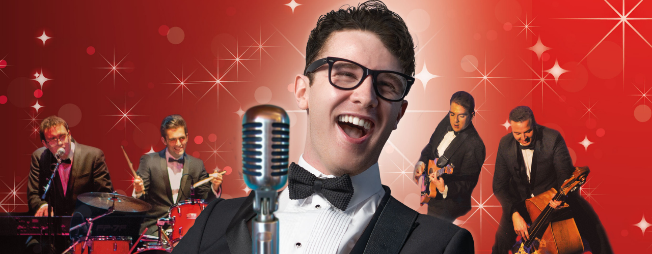 banner image for Buddy Holly & The Cricketers - Holly at Christmas 2021