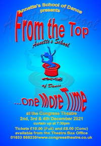 From the Top...One More Time - Annette's School of Dance Poster